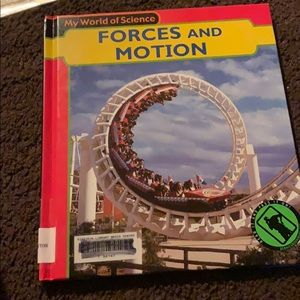 I'm selling a book about forces and motion